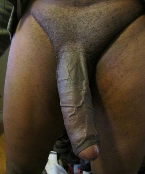 cock black Old with big man