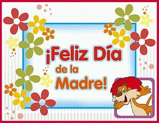 Dia de la Madre, Tarjetas con Flores, parte 1