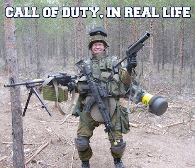 Call of duty en la vida real