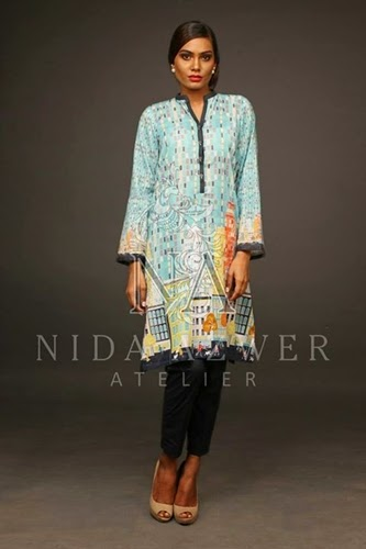 Nida Azwer Eid Collection 2014