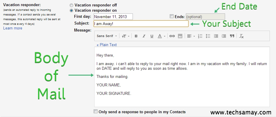 How to Write the Perfect Out of Office Auto-Responder Email