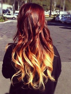 peinados mechas californianas