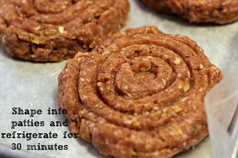 BBQ Cheddar Turkey Burgers