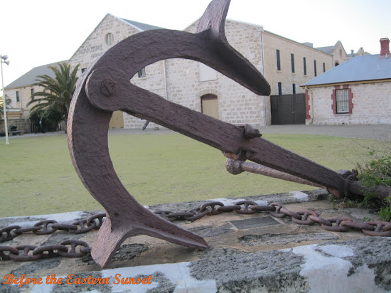 Fremantle City - big anchor