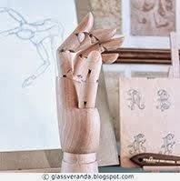 Anatomiske kunstnerdukker i interiøret - Artist mannequins in interior decoration