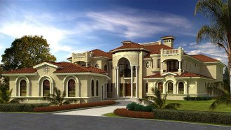 House Plan 64727 At Italian Home Design Italian Country Home