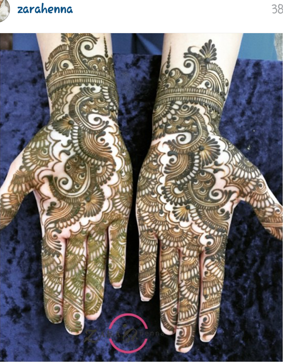 Crystal Crafts Henna Patterns Choosing The Right Artist