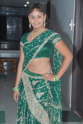 amrutha valli in saree cute stills