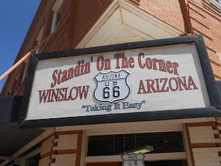 standin on the corner park winslow arizona