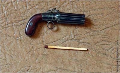 أسلحة حقيقية بحجم عود الكبريت-منتهى