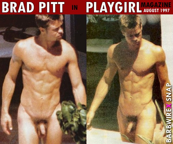 Pitt naked free brad