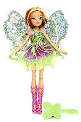 TOYS : JUGUETES - WINX CLUB  Butterflix Fairy - Flora | Muñeca - Hada  Producto Oficial - New TV Series 7 | Giochi Preziosi | A partir de 3 años  Comprar en Amazon España
