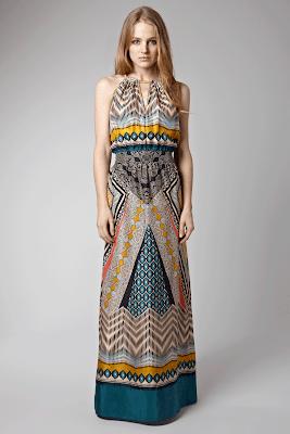 tribal scarf print cutout shoulder top £ 55 warehouse tribal