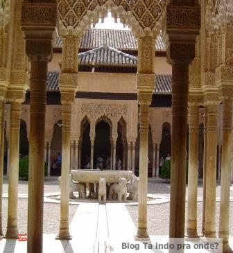 Pateo de los Leones, Alhambra