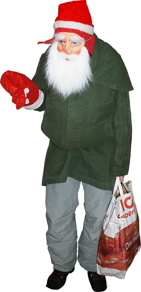 christmas to you all! Probably the poorest and fastest disguised santa ...