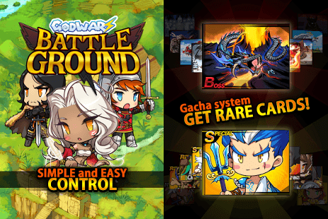 God Warz Battle Ground Apk Data