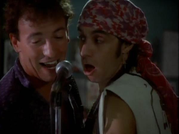 Bruce Springsteen and Steven Van Zandt in Glory Days