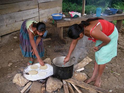 Un bon repas Guatemalteque