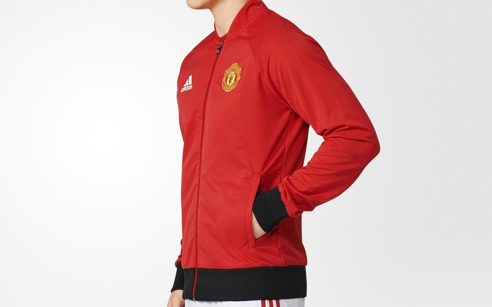 64b37a2529a Adidas Manchester United 2016 Anthem Jacket Leaked - Sports kicks