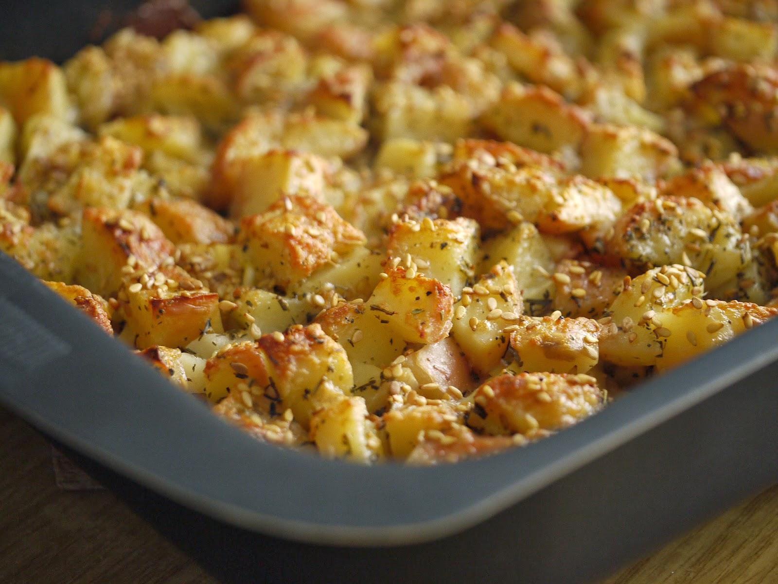 patate gratinate con crema di formaggi