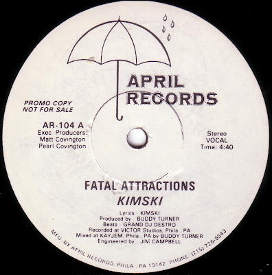 Kimski ‎– Fatal Attractions (1988, 12'') – 320