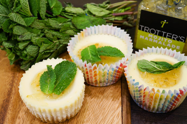 Mini Mojito Cheesecakes