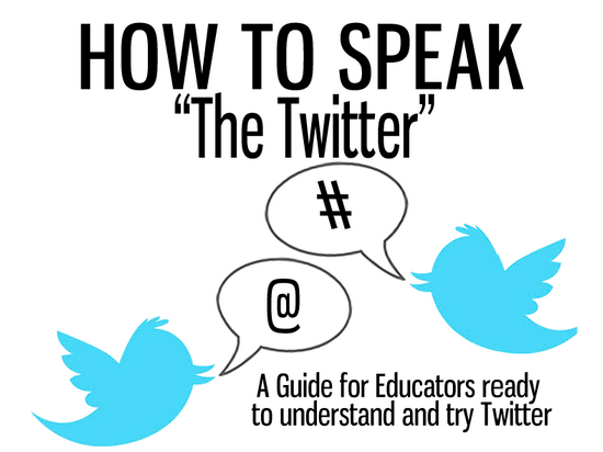 "How To Speak ""The Twitter"" presentation"