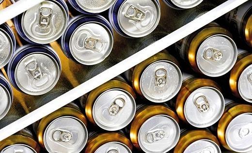químico lata cerveza refresco