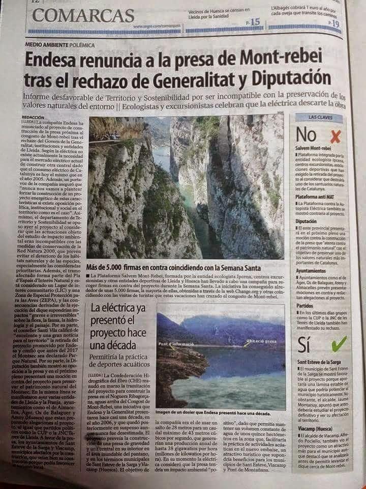 http://www.lavanguardia.com/local/lleida/20150408/54429493077/endesa-descarta-fer-la-presa-a-les-portes-del-congost-de-mont-rebei-per-l-oposicio-politica-i.html