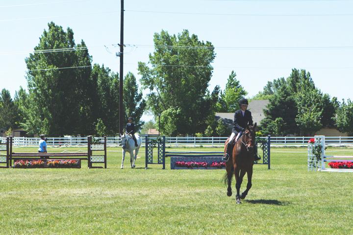 emma's horse show.