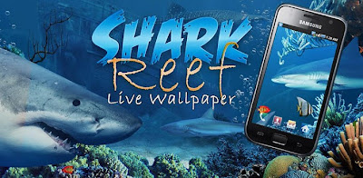Download Shark Reef  Live Wallpaper v1.10