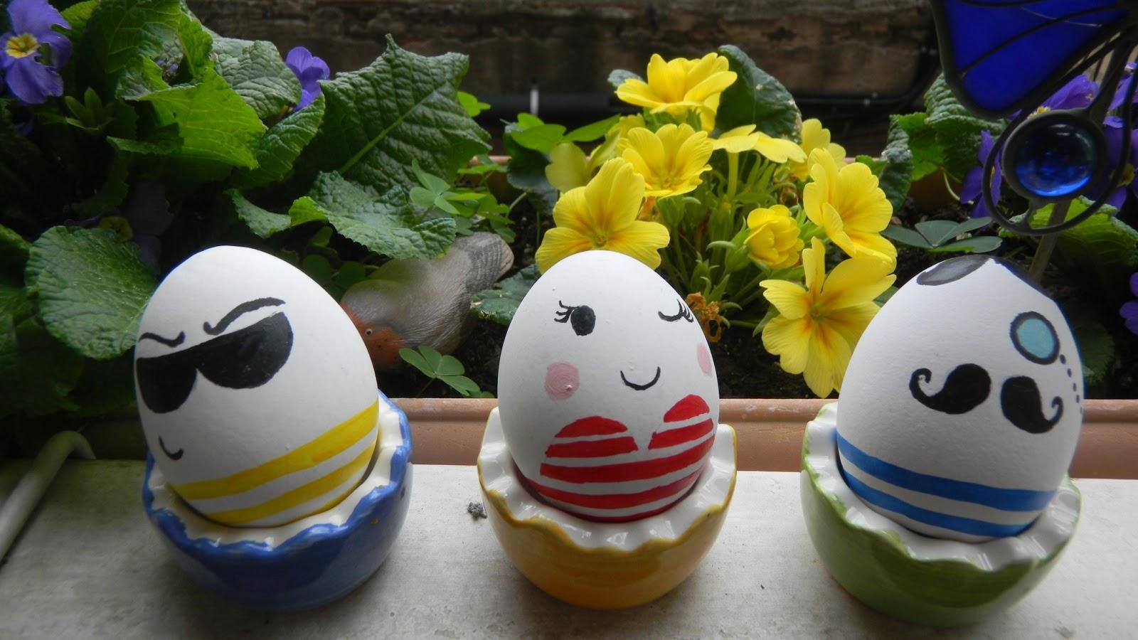 hace huevo pascua: