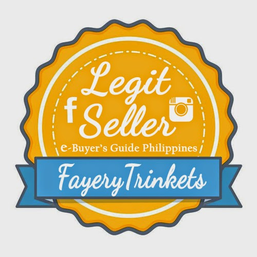 Fayery Trinkets Legit Seller Badge