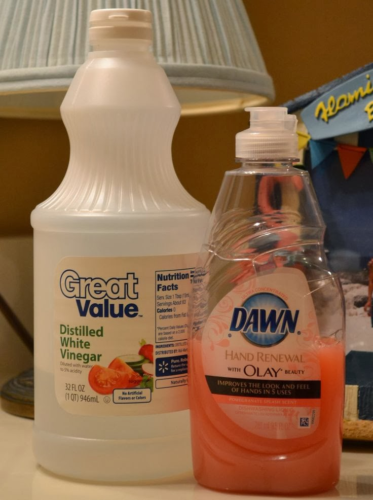 Tammy365 review of pinterest dawn vinegar shower cleaner for Vinegar bathroom cleaner