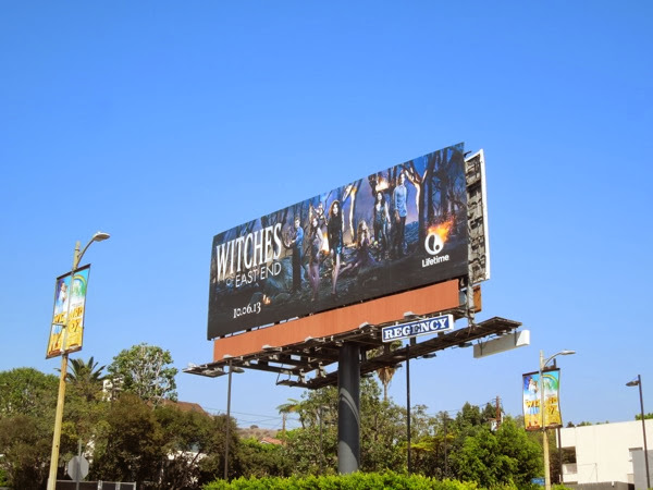 Witches of East End billboard Sunset Boulevard