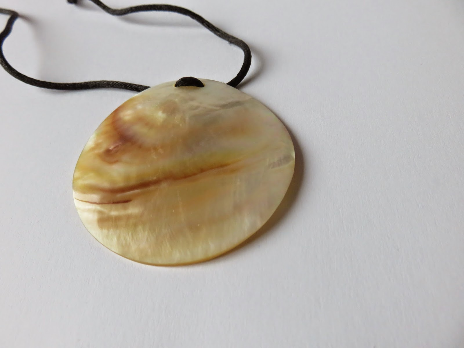 shell necklace schelpen ketting