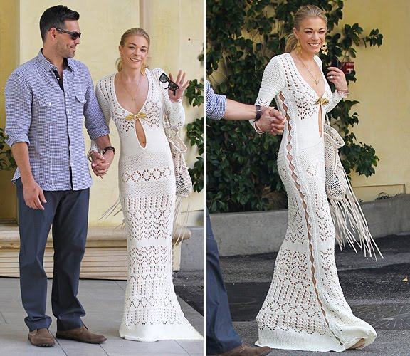 Sans limites crochet crochet wedding dress part for me was her crochet dress i probably would choose not to have my bellybutton showing but i love many aspects of this dress by emilio pucci junglespirit Images