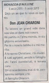 Chiaroni Don Jean