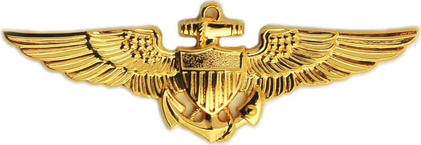 Naval aviator breast insignia