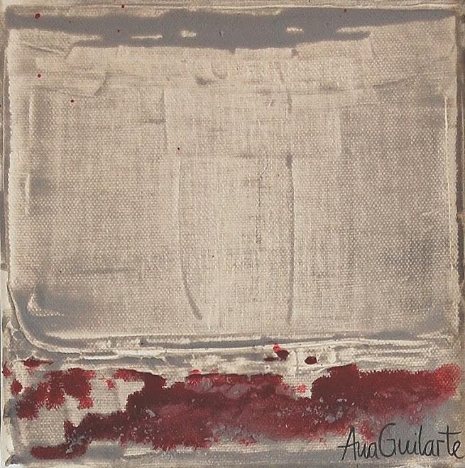 120. UNTITLED. Framed 25x25cm Sold/Vendido