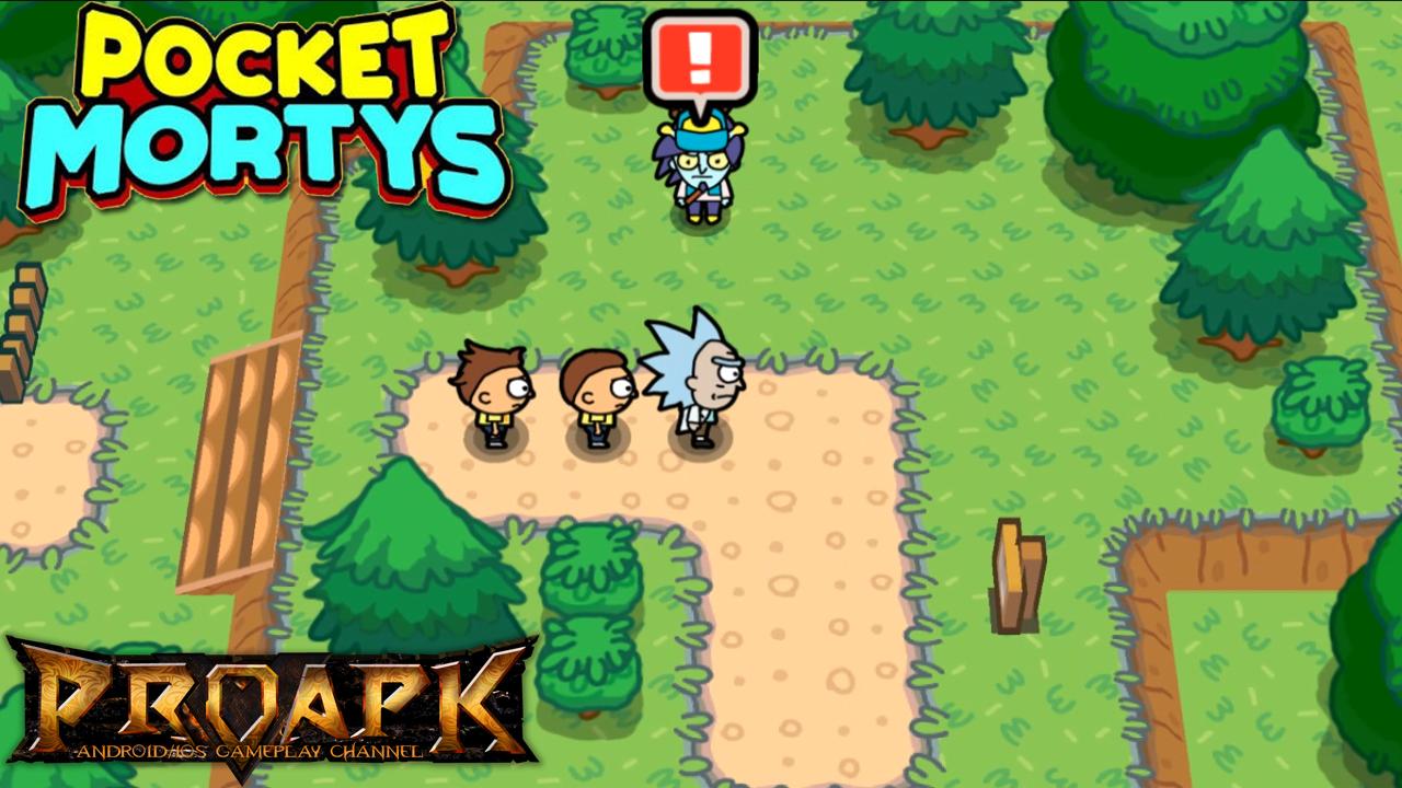 Adult Swim Games Mobile Games Rick and Morty: Pocket Mortys iPhone- / iPad-App Pocket Mortys: todas las frmulas para crear objetos