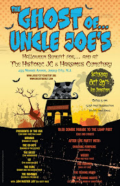 The Ghost of Uncle Joe&#39;s : Halloween Benefit Show for the Historic JC and Harsimus Cemetery