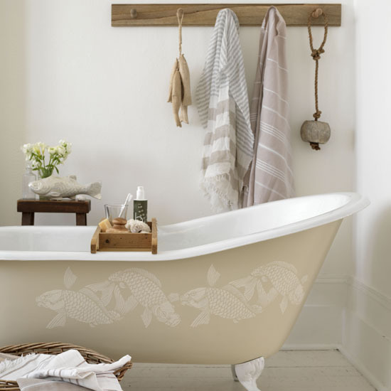 Country bathroom design ideas room design ideas for Bathroom decor ideas uk