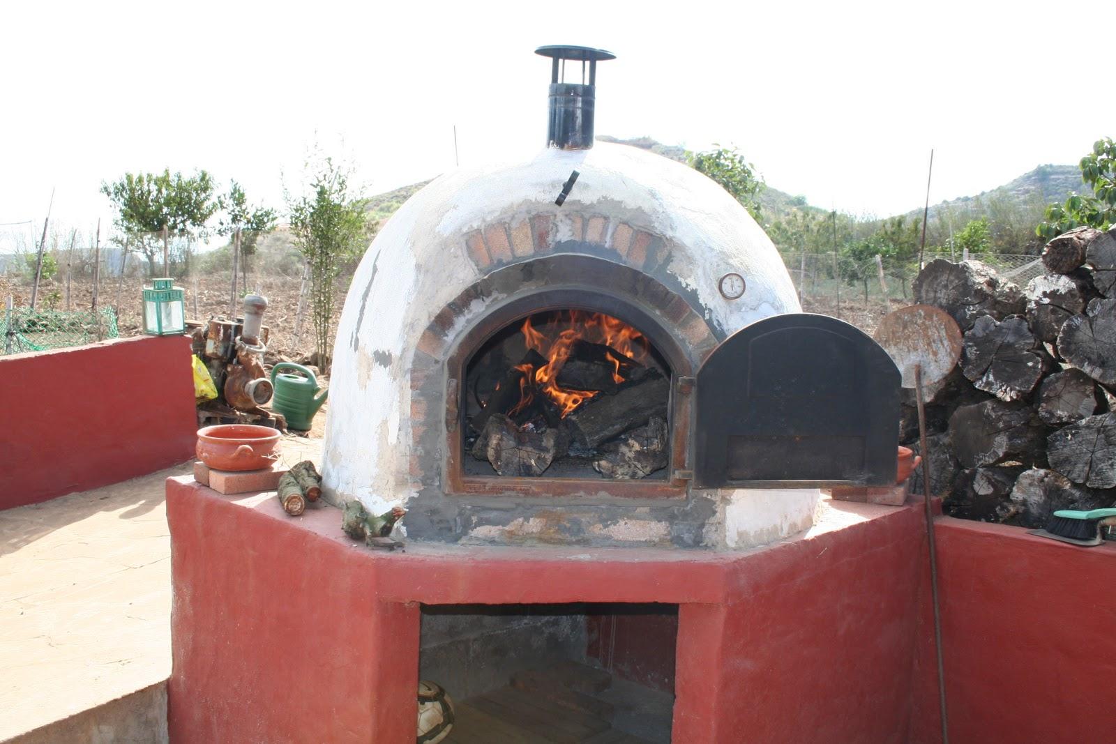 Vuelo rasante recetario pan al horno de le a for Como hacer un horno de lena de hierro