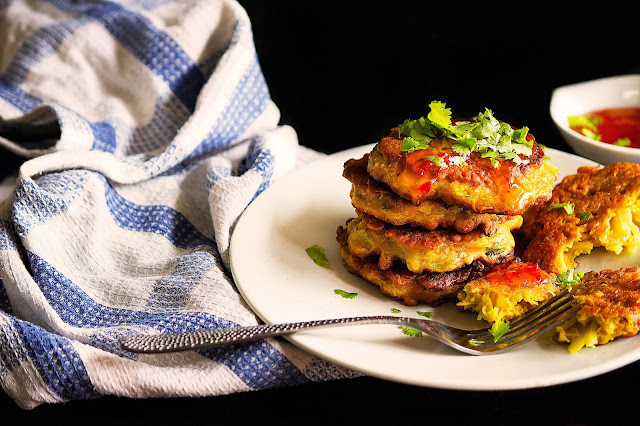 easy cabbage fritters recipe