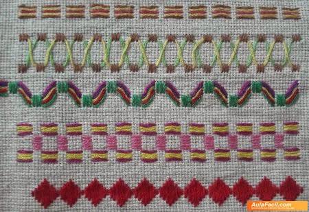 Curso basico de bordado