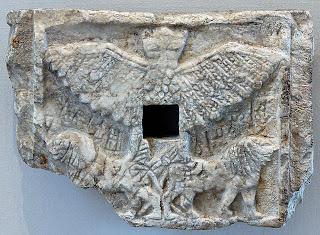 Representación de arte en relieve de la Cultura Sumeria