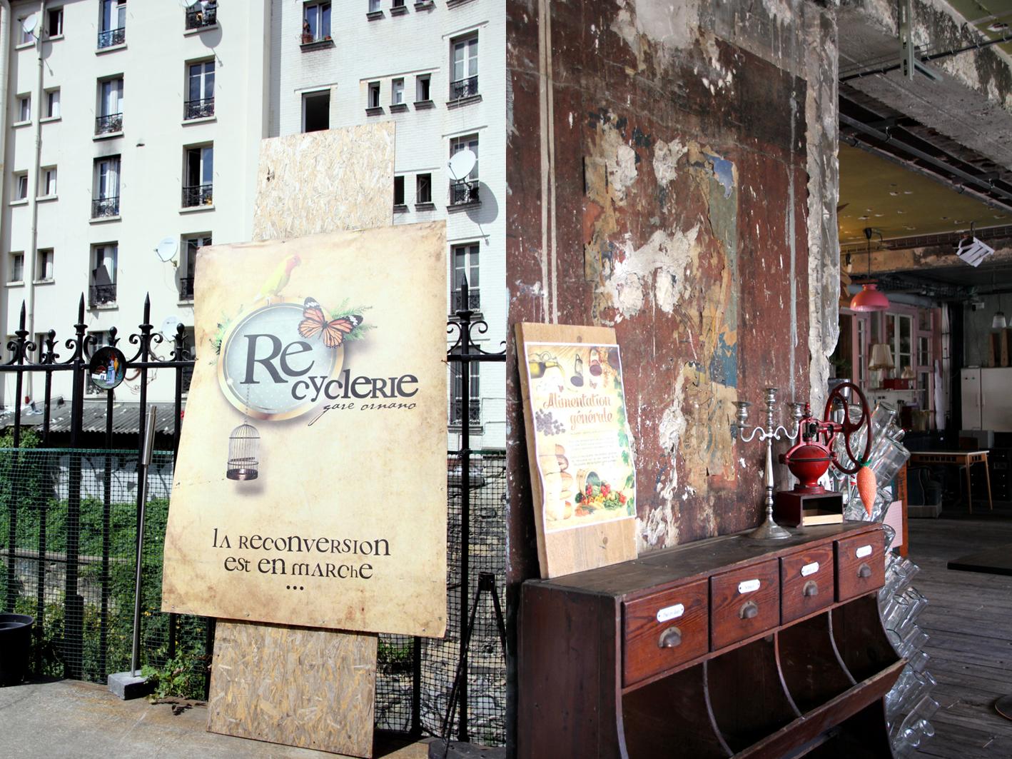 La Recyclerie - ancienne gare Ornano
