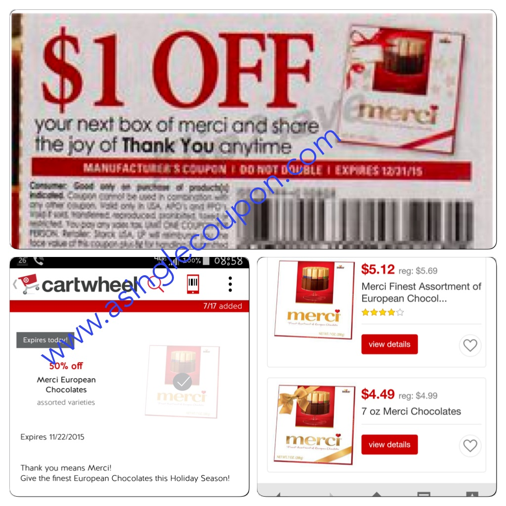 Target: Fantastic Deal On Merci Chocolates! | A Single Coupon