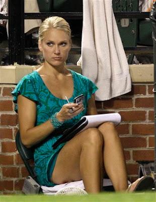 體壇美女 體育記者